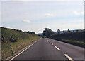 SO4678 : A49 just north of Henbrook Cottages by John Firth