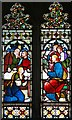 TL3149 : All Saints, Croydon - Stained glass window by John Salmon