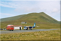 HT9737 : Foula aerodrome by Chris