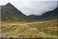 NS0045 : Spoil Heap in Glen Sannox by Anne Burgess