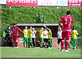 TQ3404 : Water break, the Enclosed Ground, home of Whitehawk FC by nick macneill