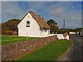 S8808 : Thatched cottage at Cullenstown by Oliver Dixon
