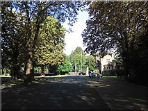 TQ2272 : Putney Vale Cemetery by Peter Turner