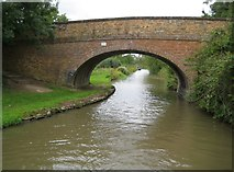 SP4678 : Oxford Canal: Bridge Number 38: Cathiron Spinneys Bridge by Nigel Cox