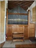 ST6601 : St Mary, Cerne Abbas: organ by Basher Eyre