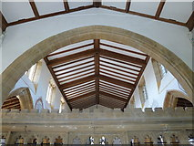 ST6601 : Inside St Mary, Cerne Abbas by Basher Eyre