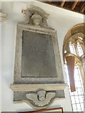 ST6601 : St Mary, Cerne Abbas: memorial (9) by Basher Eyre