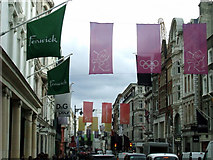 TQ2880 : New Bond Street flags by Thomas Nugent