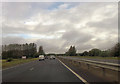 SP6432 : A421 beside disused airfield by John Firth