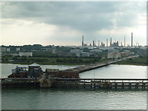 SU4604 : Fawley Refinery and jetty by Chris Allen