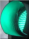 SE1633 : Bradford: a green cobweb by Chris Downer