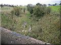 NS5224 : Former railway cutting by Richard Dorrell
