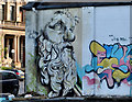 J3474 : Mural, Corporation Street, Belfast (5) by Albert Bridge