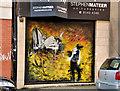 J3374 : Decorated shutter door, Belfast by Albert Bridge