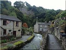 SK1482 : Village scene, Castleton by Andrew Hill