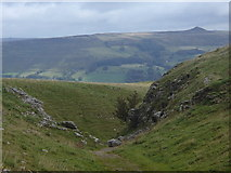SK1482 : Above Cave Dale with view to Win Hill by Andrew Hill