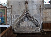 SK3871 : Wall tomb in  St. Mary and All Saints church, Chesterfield by Derek Voller