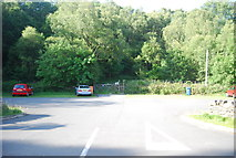 SH7357 : Car park by the A5 by N Chadwick