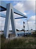 TA1031 : Stoneferry  Bridge  and  Navigation  Lights by Martin Dawes
