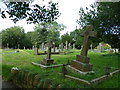 ST5561 : Saint Andrew, Chew Stoke: churchyard (a) by Basher Eyre