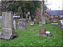 NS4927 : Kirkyard, Mauchline Parish Church by Richard Dorrell
