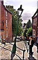 SK9771 : Steep Hill, Lincoln by Paul Buckingham