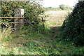 SP7335 : Unused gate between fields by Philip Jeffrey
