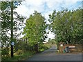 SO1411 : Bridleway past Wells Farm, Beaufort Wells by Robin Drayton