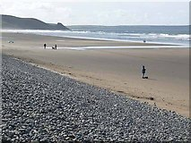 SM8421 : Newgale Sands by Oliver Dixon