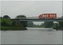 SK8174 : Dunham road bridge by Graham Horn