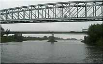 SK8174 : Dunham bridges by Graham Horn