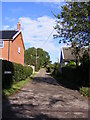 TM3679 : Buntings Lane Byway by Geographer