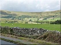 SK1482 : View Northwest from Buxton Road , Castleton by Derek Voller