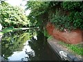 SO8379 : Sandstone cutting at the top of Wolverley lock by Christine Johnstone