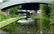 SP0990 : Grand Union Canal approaching Salford Junction, Birmingham by Roger  Kidd