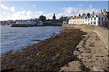 NO5603 : Sea wall and beach, Anstruther by Ian Taylor