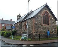 SN8746 : St James Church,  Llanwrtyd Wells by Jaggery