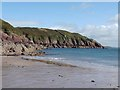 SM8105 : Castlebeach Bay and Dale Fort by Oliver Dixon