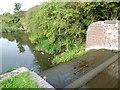SO9186 : Dry bywash weir, Delph locks by Christine Johnstone