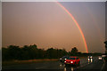 SP5004 : Rainbow over the A34 by David Lally