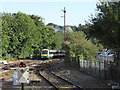 TQ3952 : Approaching Oxted station by Stephen Craven