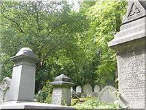 TQ2887 : Highgate Cemetery by Austenasia