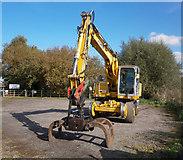 TA0623 : Rail Track Maintenance Machine at Barrow Haven by David Wright