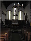 NY4319 : St  Peter's.  Martindale  ( interior ) by Martin Dawes
