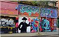 J3374 : Graffiti, North Street, Belfast (1) by Albert Bridge