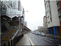 TQ3880 : View up Blackwall Way by Robert Lamb