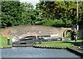 SP1592 : Minworth Bottom Lock, Birmingham by Roger  Kidd