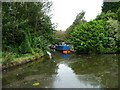SO9487 : Canal basin parallel to the Halesowen Road by Christine Johnstone