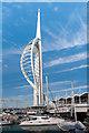 SZ6299 : Spinnaker Tower by Ian Capper