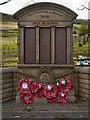 SK0482 : Chinley, Bugsworth & Brownside War Memorial by David Dixon